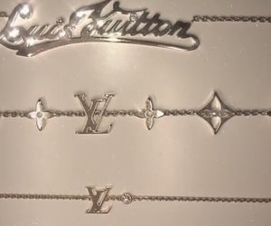gold and LV image