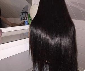 hair, beauty, and long image