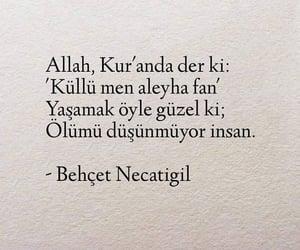 alıntı, türkçe sözler, and behçet necatigil image