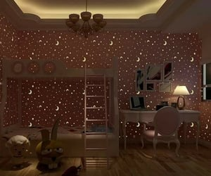 amazing, beautiful, and bed room image