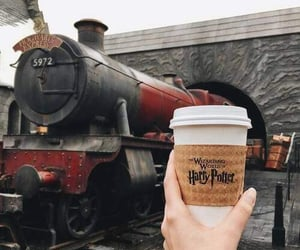 harry potter, hogwarts, and coffee image