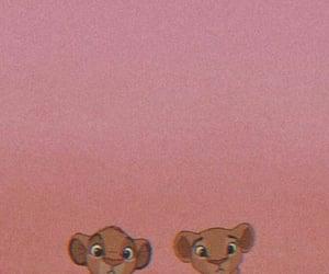 wallpaper, disney, and simba image