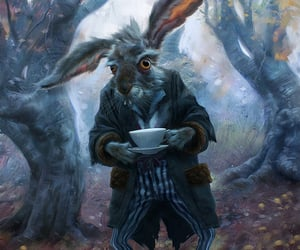 fantasy, film, and march hare image