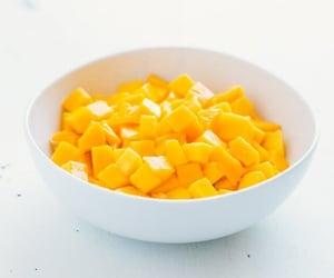 food, mango, and tasty image