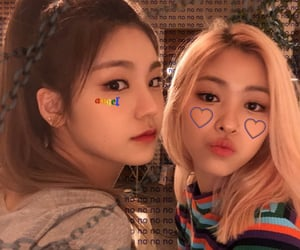 itzy, yeji, and ryujin image