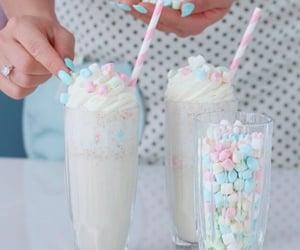 milkshake, delicious, and pastel image