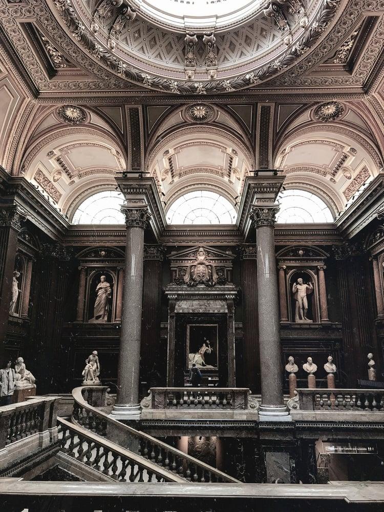academia, french, and dark academia image