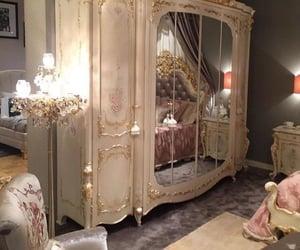 princess, bedroom, and glamour image