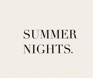 summer, night, and quotes image
