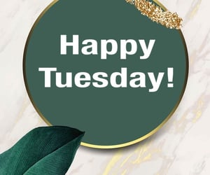 positive vibes, daily message, and happy tuesday image