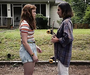 eleven, sadie sink, and gif image
