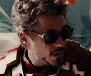 icon, tony stark, and iron man image