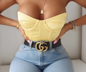 belts, tanned, and body goals image