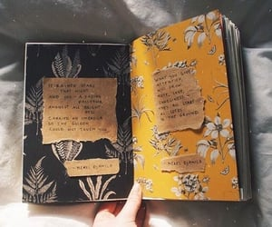 black, journal, and planner image