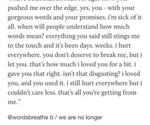 heartbroken, unrequited, and pain image