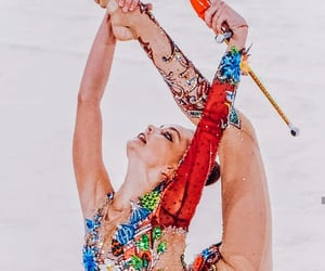 clubs, rhythmic gymnastics, and arina averina image
