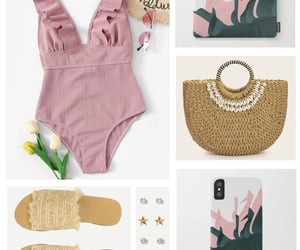 fashion, summer style, and summer outfit image