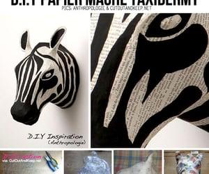 diy and zebra image