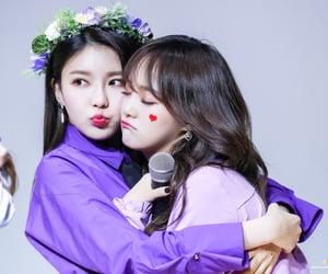 purple, gugudan, and nayoung image