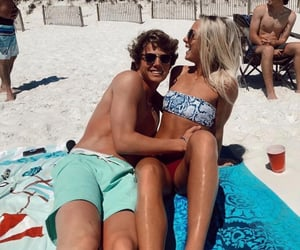 beach, goals, and couple image