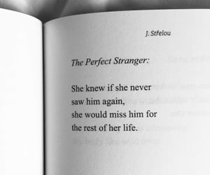 stranger, night thoughts, and perfect image