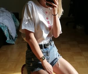 blonde, girly, and clothes image