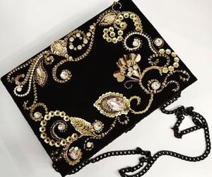 bag, bags, and black image