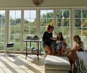 danish, house, and interior image