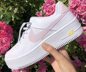 airforce, pink, and sneakers image
