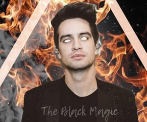 brendon urie, edit, and fire image