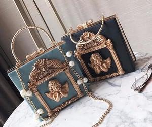 bag, fashion, and purse image