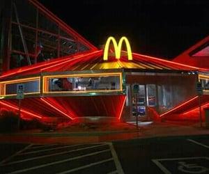 McDonalds, alien, and food image