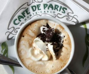 paris, cafe, and coffee image