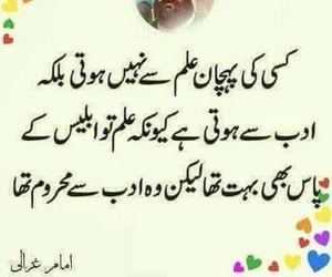 quote, urdu, and text image