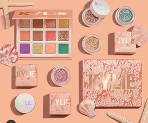 cosmetics, glitter, and summer image