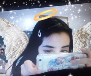 aesthetic, angel, and girl image
