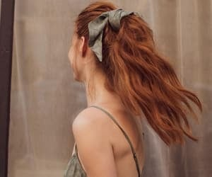 bloom, hair, and inspiration image