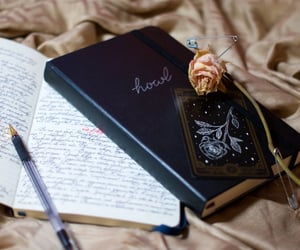 cards, diary, and handwriting image
