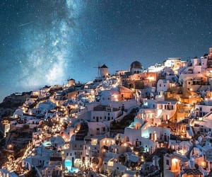 Greece, world, and santorini image