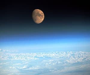 moon and space image