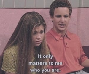boy meets world, cory, and tv series image