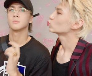 couple, gay, and kpop image