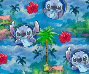 background, disney, and lilo & stitch image