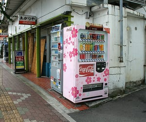 japan, asia, and vending machine image