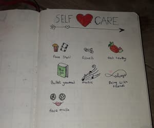 creative, self care, and bullet journal image