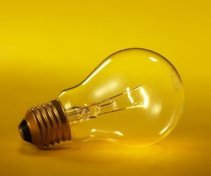 yellow, aesthetic, and light image