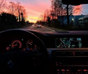 car, sky, and auto image