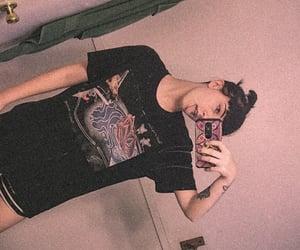 alternative, grunge, and goth image