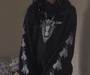 grunge, black, and fashion image