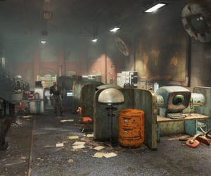 bunker, computers, and confrontation image